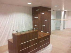 London Reception Areas and Counters